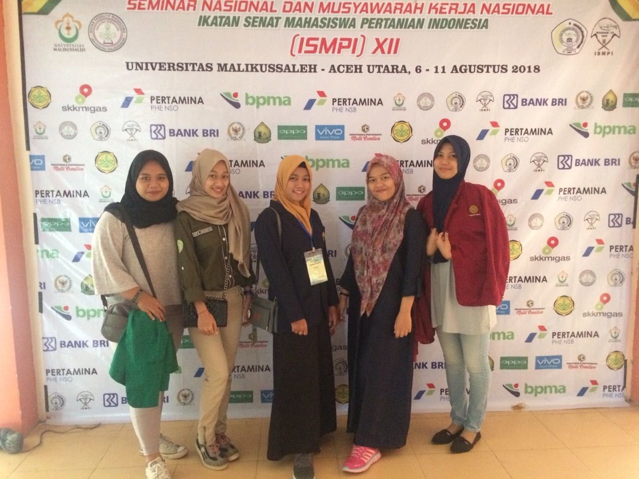 BEM Fakultas Pertanian UPY Hadiri Seminar Nasional dan Mukernas ISMPI ke XII di Universitas Malikussaleh