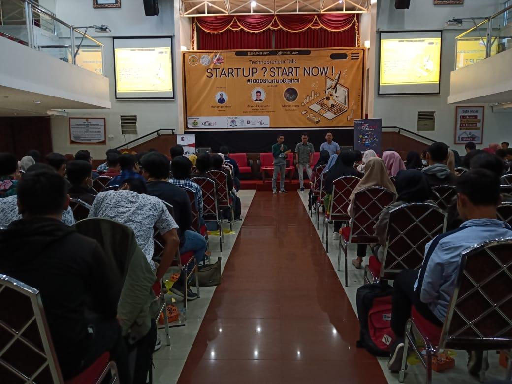 HMP TI Mengadakan Workshop Technoprenuer Dengan Tema