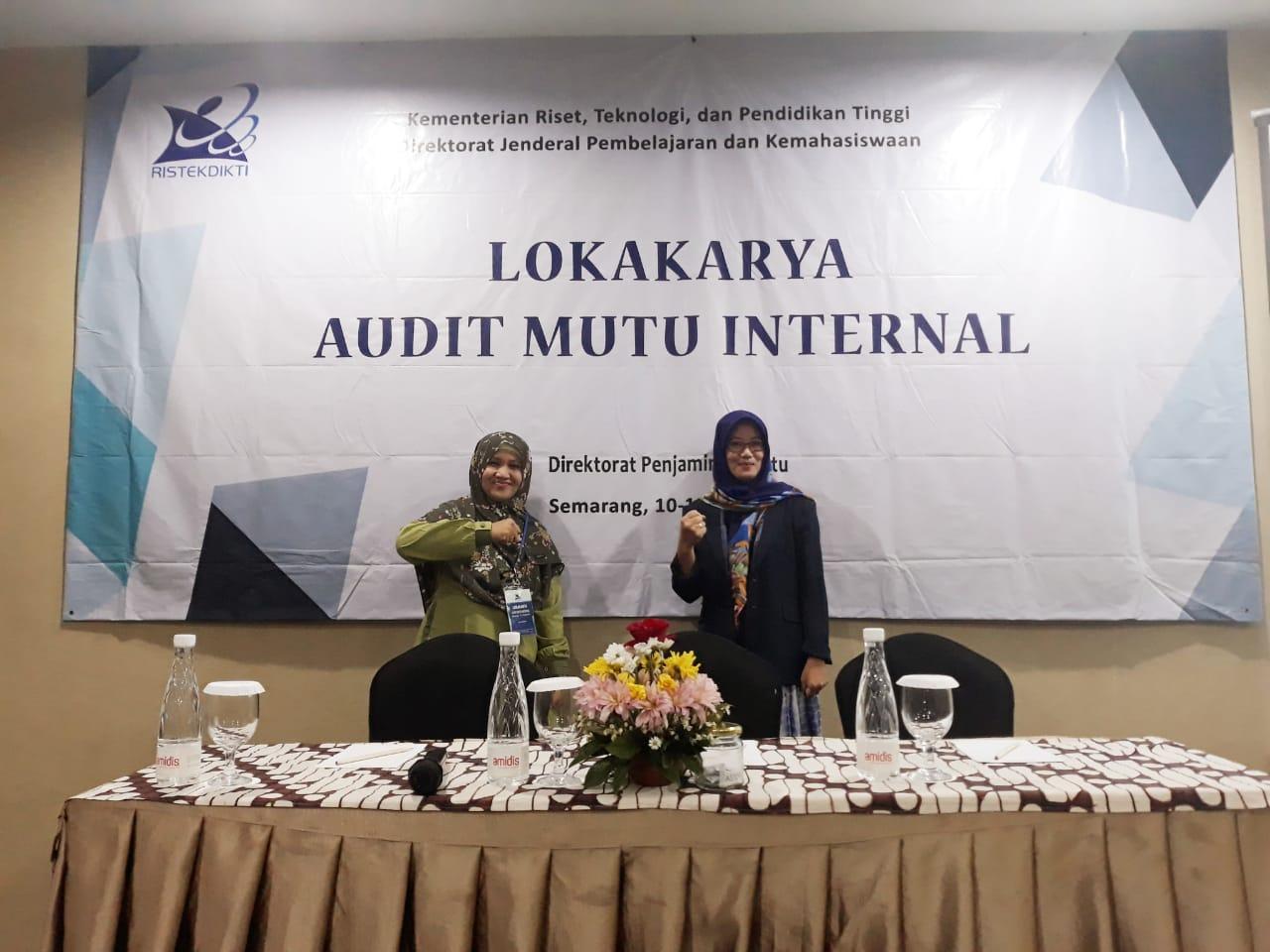Lokakarya Audit Mutu Internal - BPM UPY