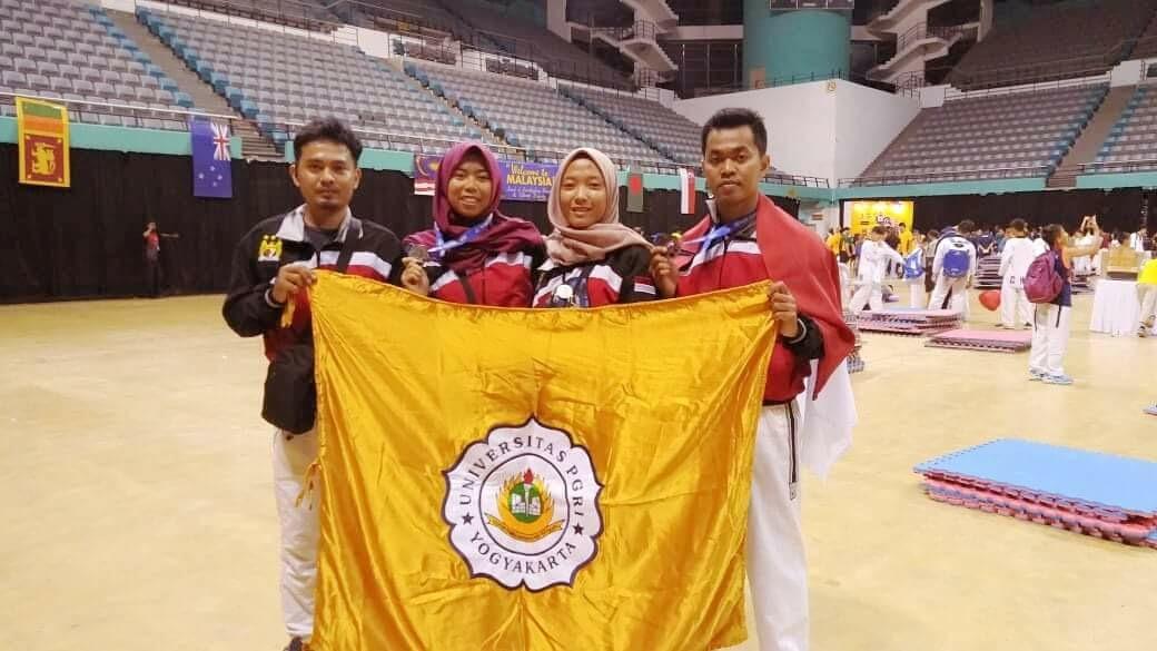 Mahasiswa UPY Kembali Meraih Prestasi Internasional di Classic International Malaysia Open Taekwondo Championship 2018