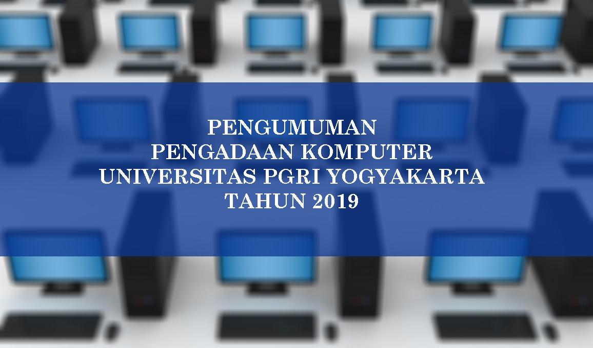 PENGUMUMAN PENGADAAN BARANG FEB-2019