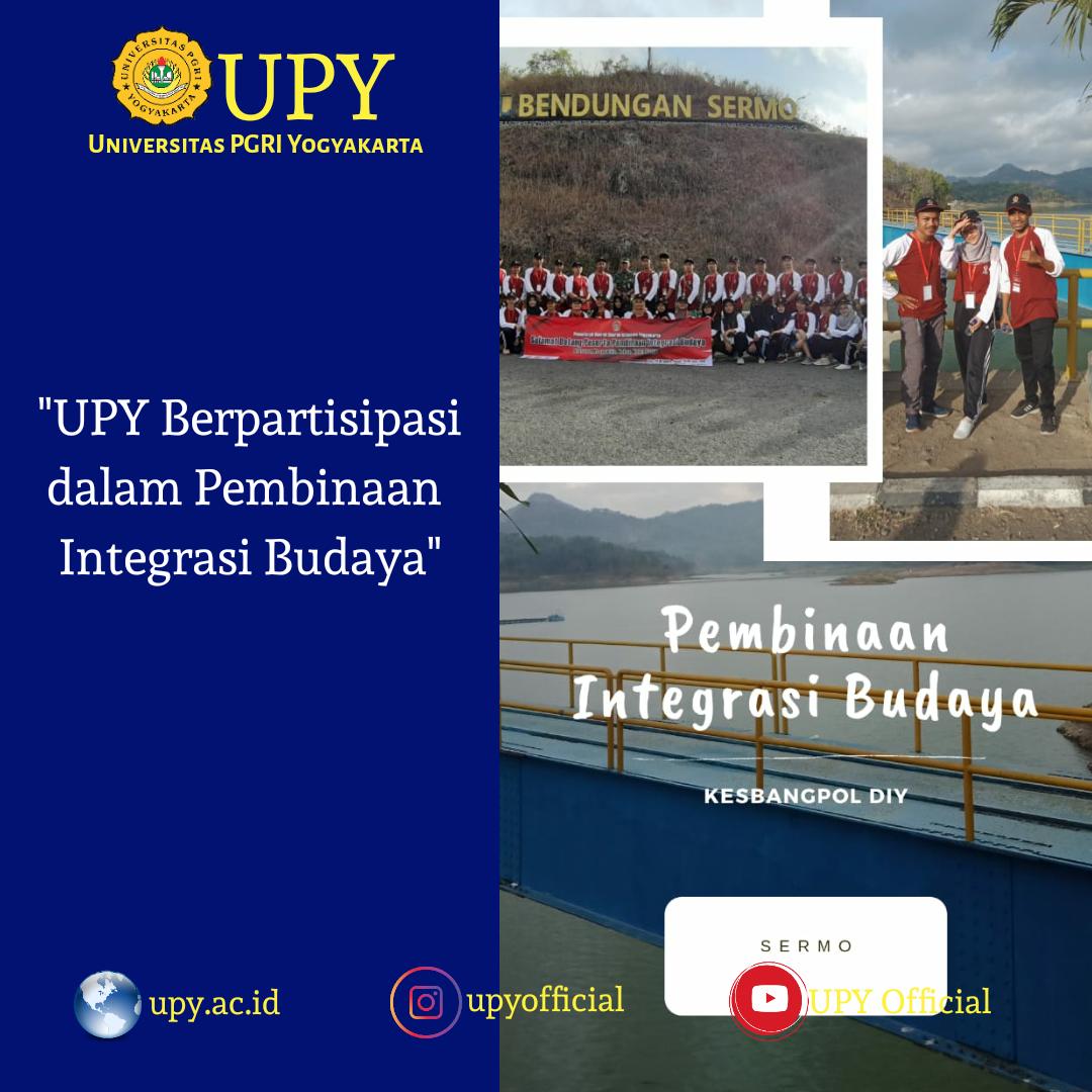 UPY Berpartisipasi dalam Pembinaan Integrasi Budaya