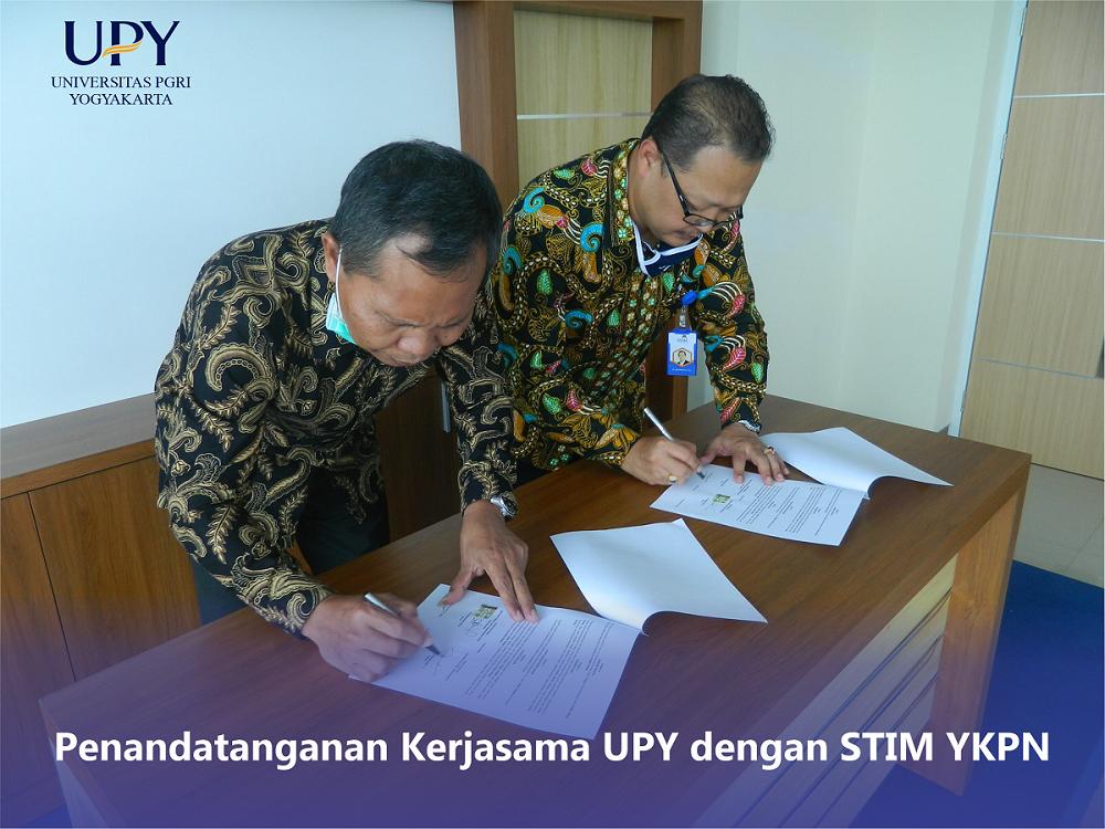 UPY dan STIM YKPN Kerja Sama Tingkatkan Kualitas Dosen