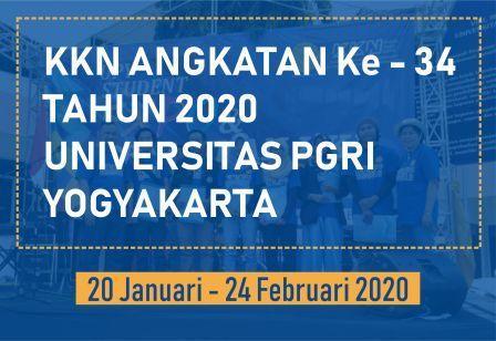 KKN ANGKATAN Ke-34 TAHUN 2020